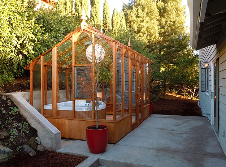 Hot tub solarium Solarium designs
